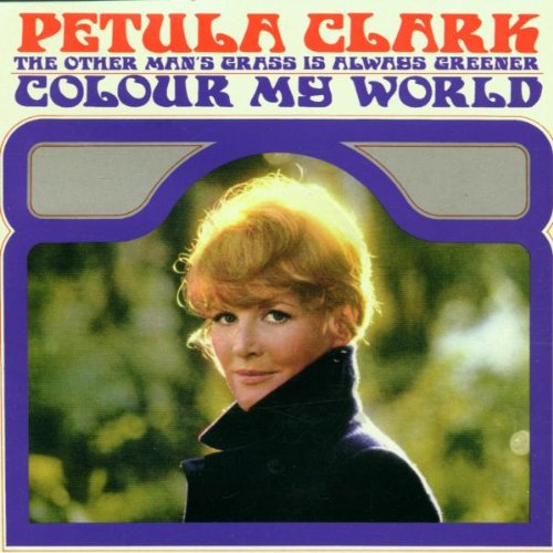 Petula Clark Colour My World cover art