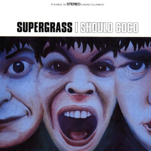 Supergrass Caught By The Fuzz cover art