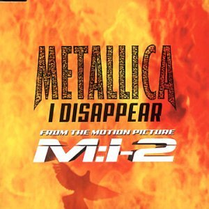 Metallica I Disappear cover art