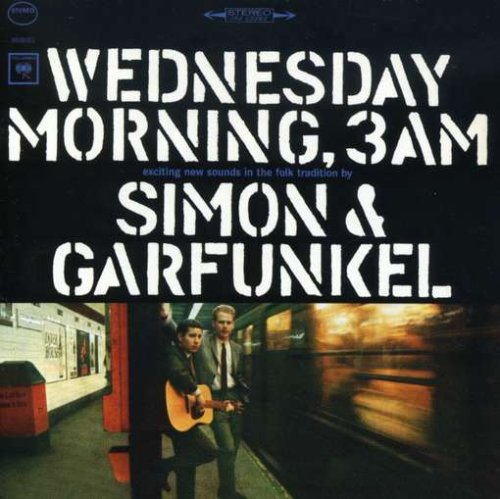 Simon & Garfunkel The Sound Of Silence l'art de couverture