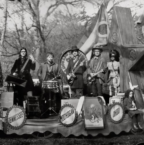The Raconteurs Many Shades Of Black cover art