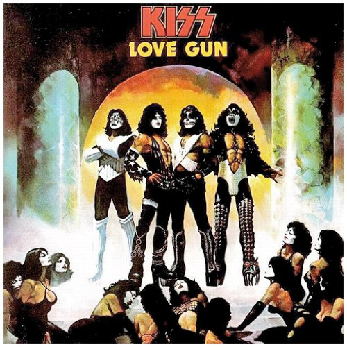 KISS Love Gun cover art