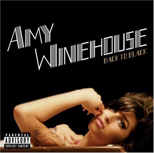 Amy Winehouse Back To Black cover art