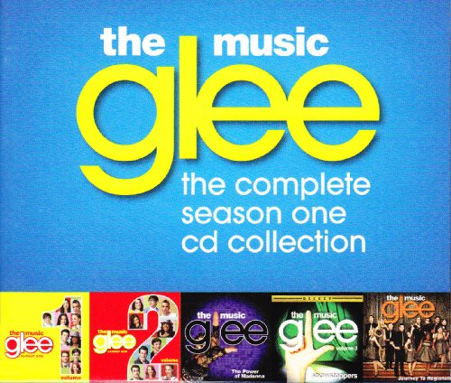 Glee Cast Dancing With Myself cover art