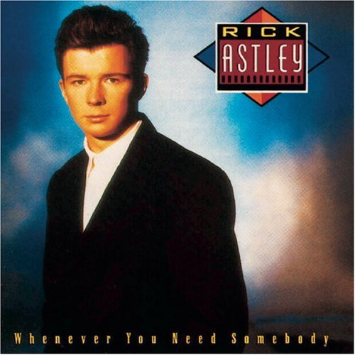 Rick Astley Never Gonna Give You Up cover art
