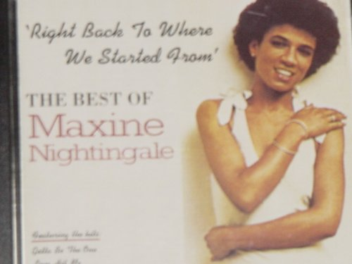 Maxine Nightingale Right Back Where We Started From cover art