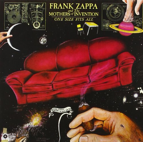 Frank Zappa Can't Afford No Shoes cover art