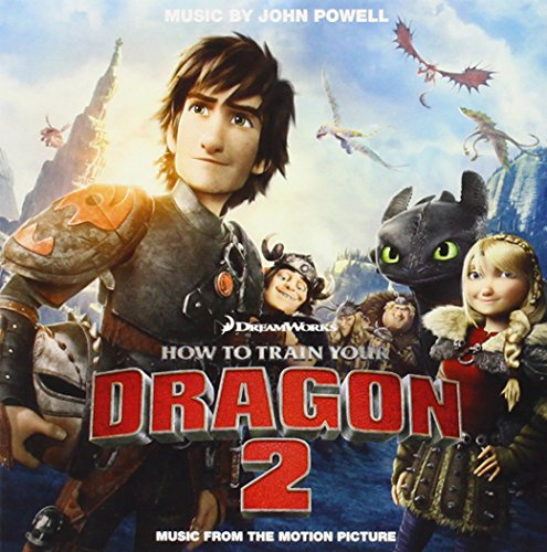John Powell Stoick Saves Hiccup cover art