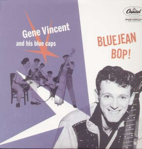 Gene Vincent Be-Bop-A-Lula cover art