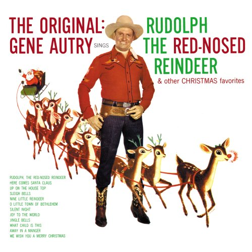 Gene Autry Up On The House Top (Ho! Ho! Ho!) cover art