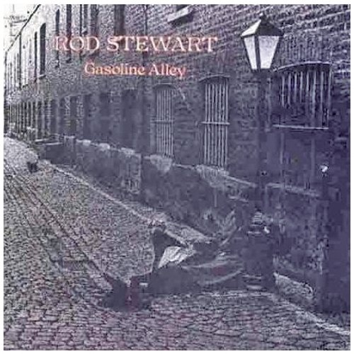 Rod Stewart Gasoline Alley cover art