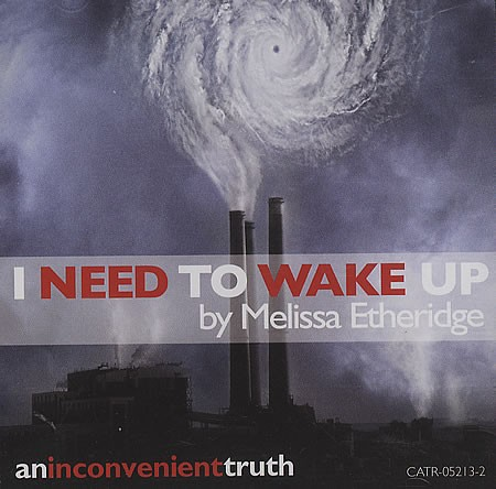 I Need To Wake Up sheet music by Melissa Etheridge