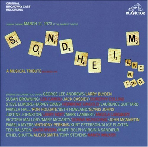 Stephen Sondheim Losing My Mind cover art