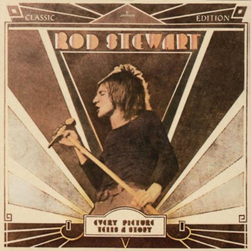 Rod Stewart Maggie May cover art