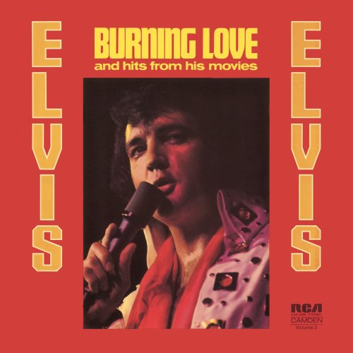 Elvis Presley Burning Love cover art