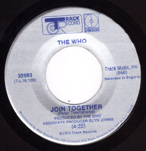 The Who Join Together cover art
