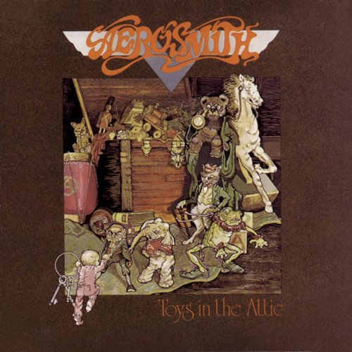 Aerosmith Toys In The Attic cover art