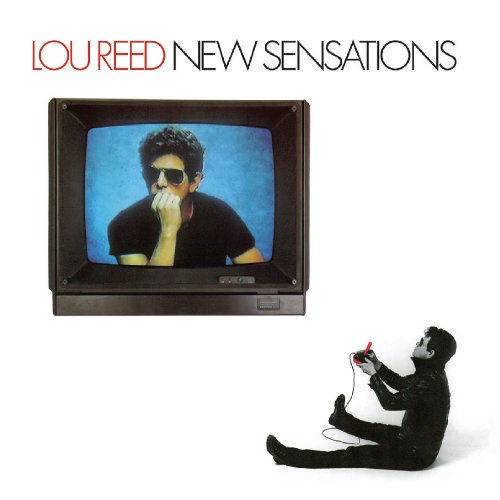 Lou Reed New Sensations cover art