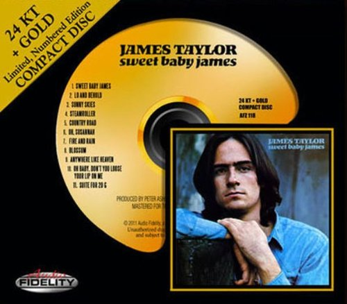 James Taylor Sweet Baby James cover art