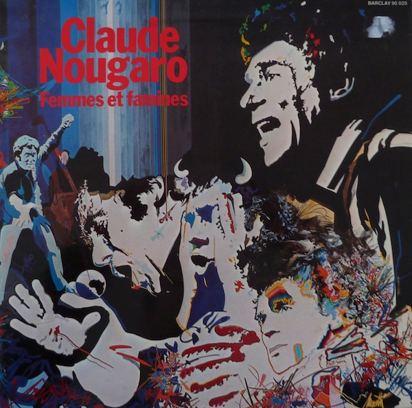 Claude Nougaro Gloria cover art