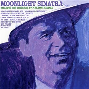 Frank Sinatra Moonlight Becomes You cover art
