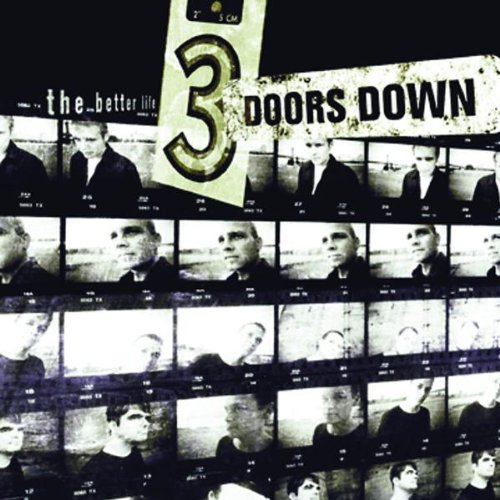 3 Doors Down Kryptonite cover art