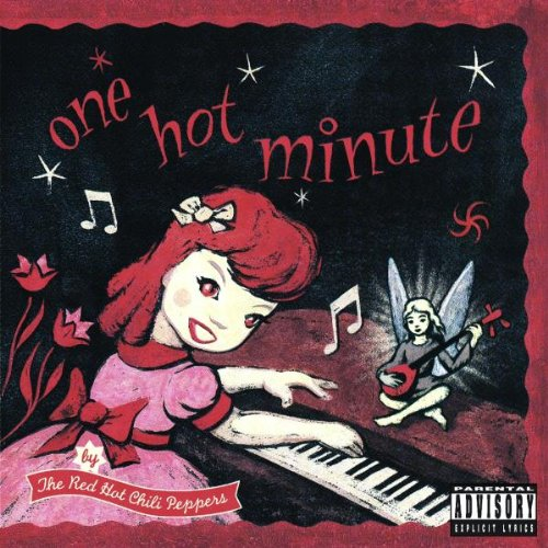 Red Hot Chili Peppers One Hot Minute cover art