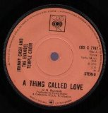 A Thing Called Love sheet music by Johnny Cash