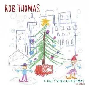 Rob Thomas A New York Christmas cover art