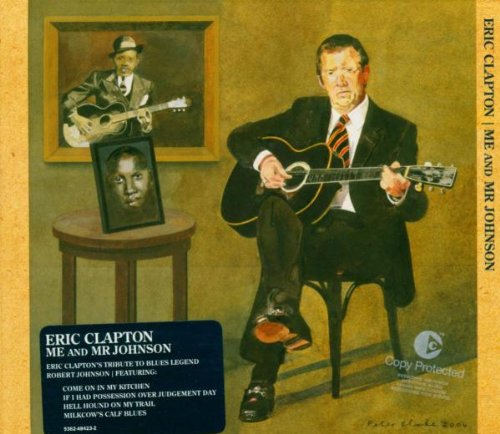 Eric Clapton They're Red Hot cover art