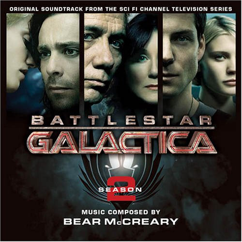 Bear McCreary Battlestar Muzaktica cover art