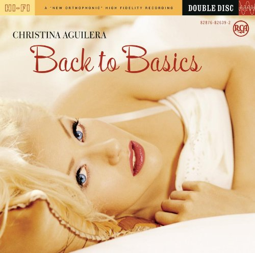 Christina Aguilera Enter The Circus cover art