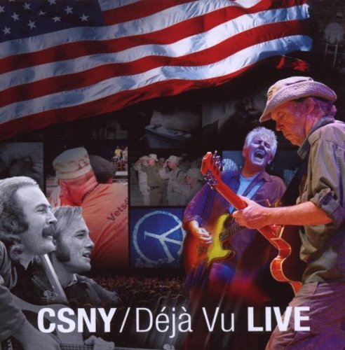 Crosby, Stills & Nash Military Madness cover art