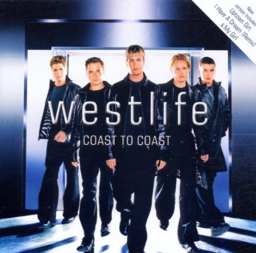 Westlife Uptown Girl cover art