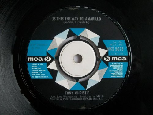 Tony Christie I Did What I Did For Maria cover art