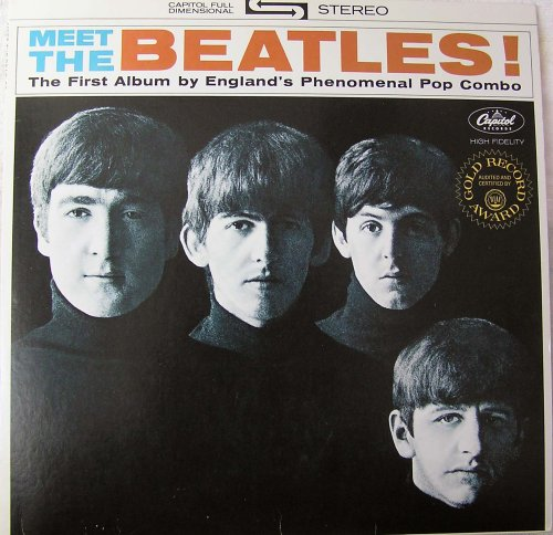 The Beatles I Want To Hold Your Hand cover art
