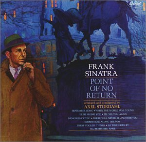 Frank Sinatra I'm Walking Behind You (Look Over Your Shoulder) cover art