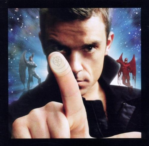 Robbie Williams The Trouble With Me cover art