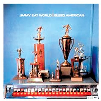 Jimmy Eat World The Middle cover art