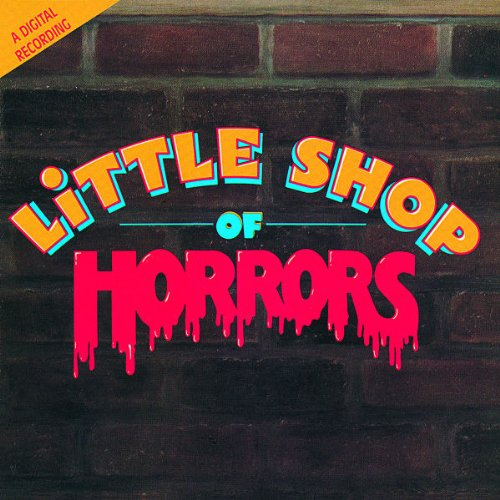 Alan Menken Little Shop Of Horrors cover art