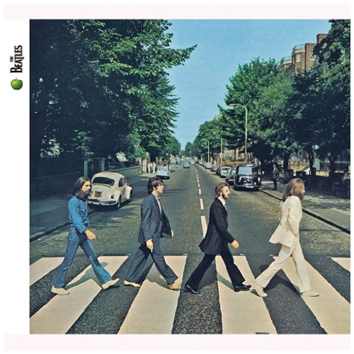 The Beatles Because cover art