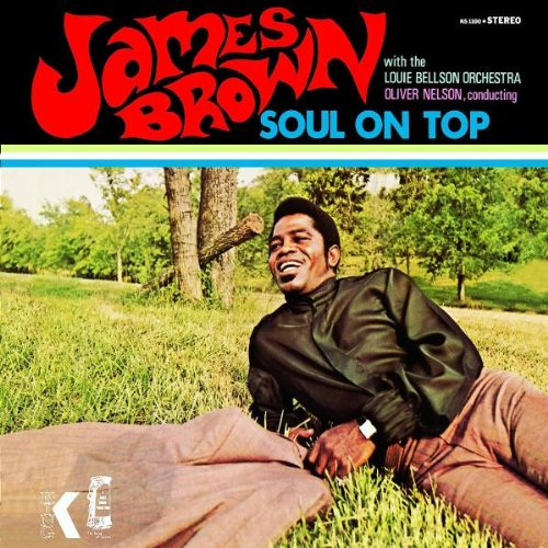 James Brown Papa's Got A Brand New Bag cover art