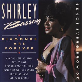 Shirley Bassey Moonraker cover art
