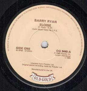 Barry Ryan Eloise cover art