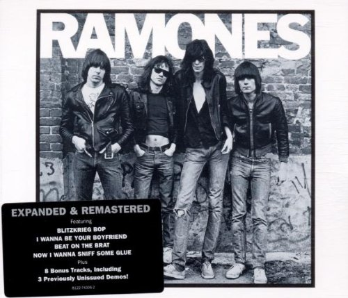 The Ramones Blitzkrieg Bop cover art