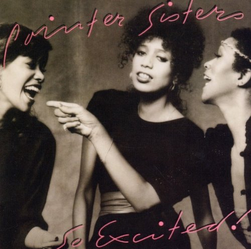 The Pointer Sisters I'm So Excited cover art