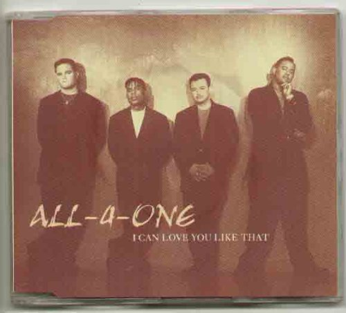 All-4-One Someday (from Walt Disney's The Hunchback Of Notre Dame) cover art