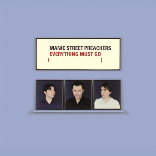 Manic Street Preachers Everything Must Go cover art