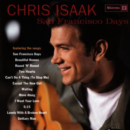 Chris Isaak Can't Do A Thing (To Stop Me) cover art