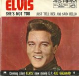 She's Not You sheet music by Elvis Presley